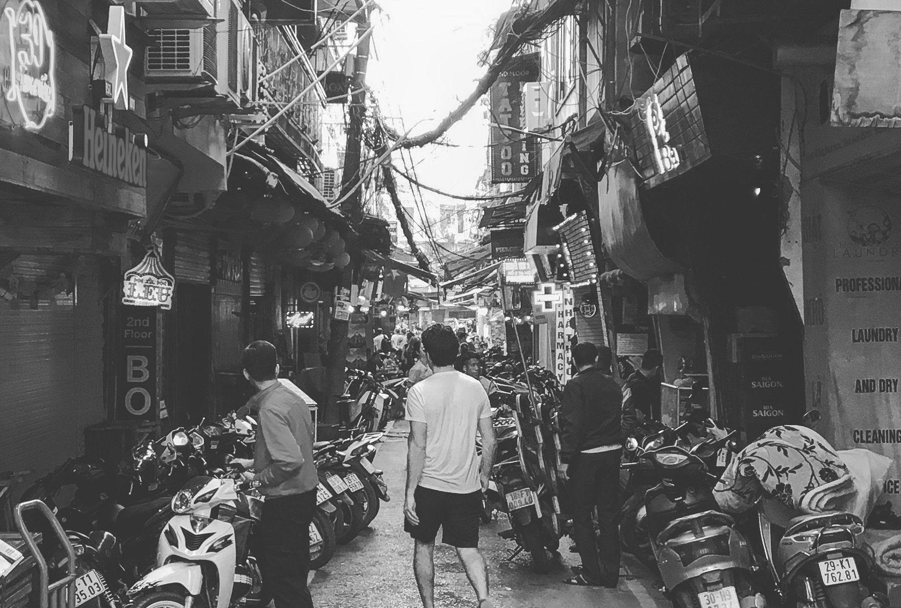 ruta de 15 días por vietnam