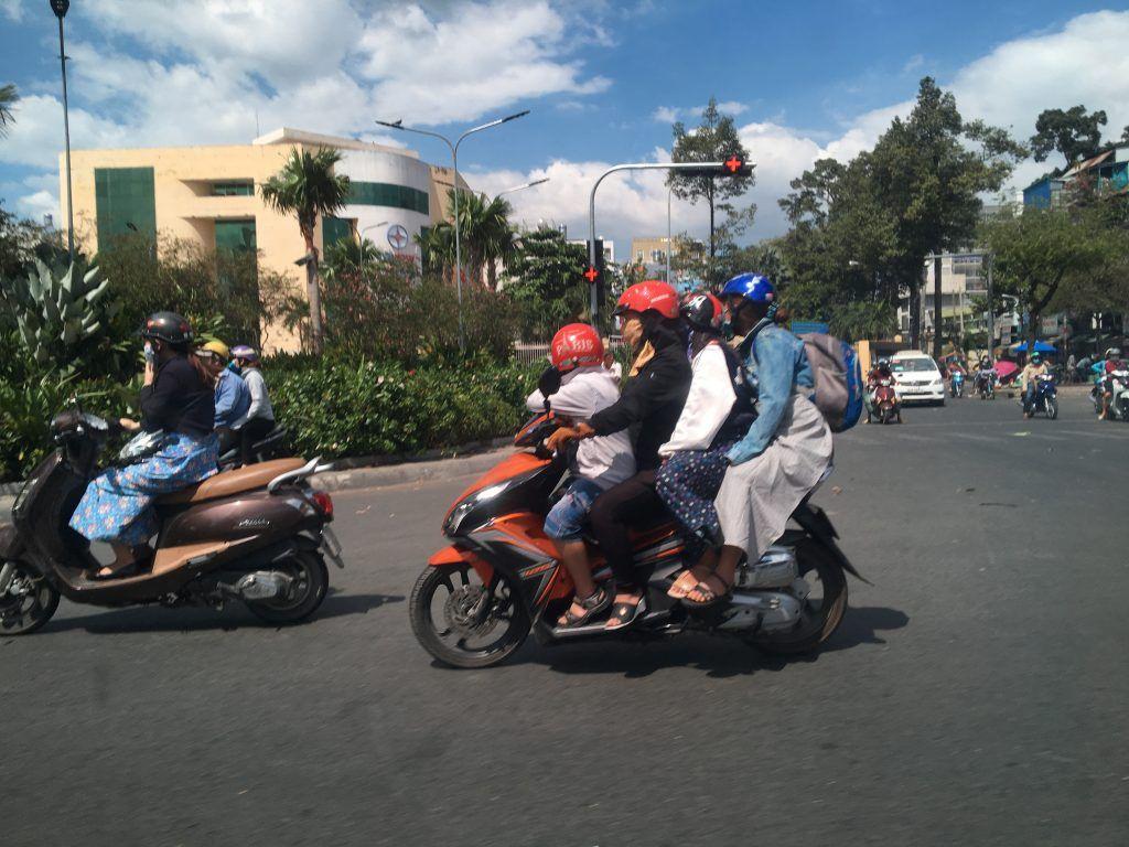 el Transporte en Vietnam