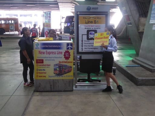 como llegar a Bangkok desde el aeropuerto